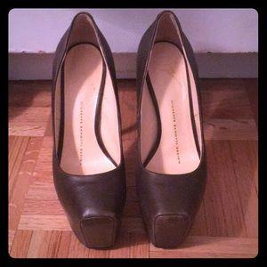 Women Giuseppe zanotti platform leather heel 5.5